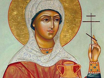 Святая великомученица Анастасия Узорешительница (+Аудио)