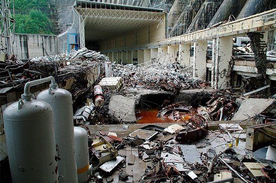 Авария на Саяно-Шушенской гидроэлектростанции