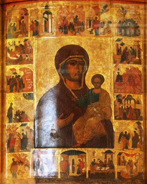 Икона Божией Матери Смоленская из города Устюжна