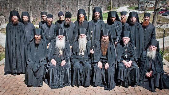 Братия Крестовоздвиженского монастыря