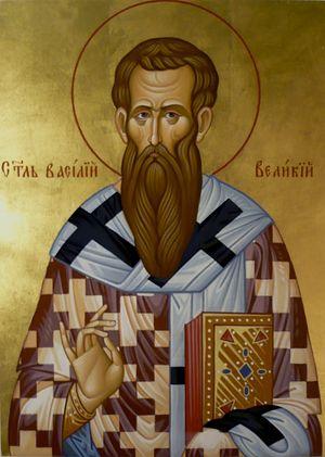 Святитель Василий Великий, архиепископ Кесарии Капподакийской