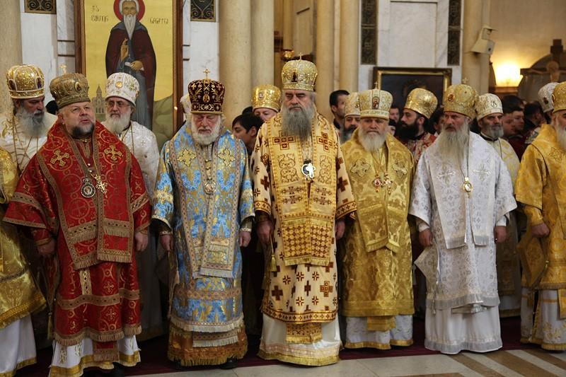 Торжества в честь Святейшего Католикоса-Патриарха всея Грузии Илии II.  Фото: Заза Мамулашвили