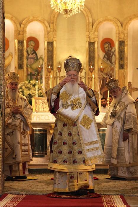 Патриарх Константинопольский Варфоломей. Фото: Заза Мамулашвили