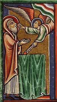 Тогда прилетел ко мне один из Серафимов, и в руке у него горящий уголь, который он взял клещами с жертвенника, и коснулся уст моих и сказал: вот, это коснулось уст твоих, и беззаконие твое удалено от тебя, и грех твой очищен. Ис. 6:6-7