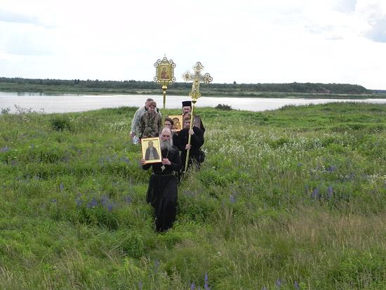 Крестный ход в Пустозерск. 18 июня - День преподобного Сергия Радонежского.