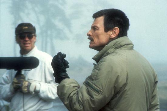 Андрей Тарковский. Съемки «Жертвоприношения». 1985 г.