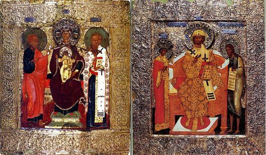 Сравнение двух икон