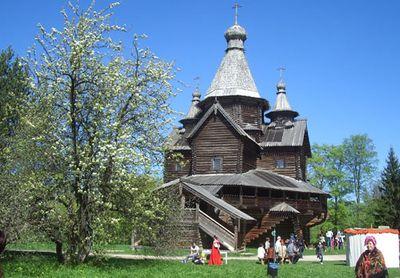 Храм села Передки Бежецкой пятины - 1531 год.
