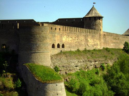 Крепость Ивангород.