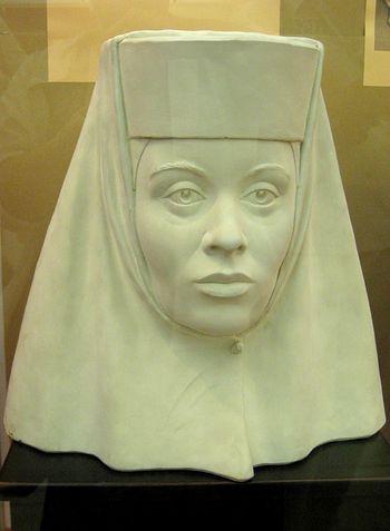 Царица Ирина Годунова - реконструкция облика.