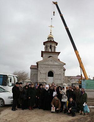 Община строящегося храма