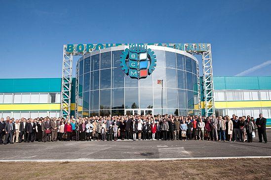 Новый завод по производству элеваторного оборудования и зерноочистительной техники ООО «Воронежсельмаш»