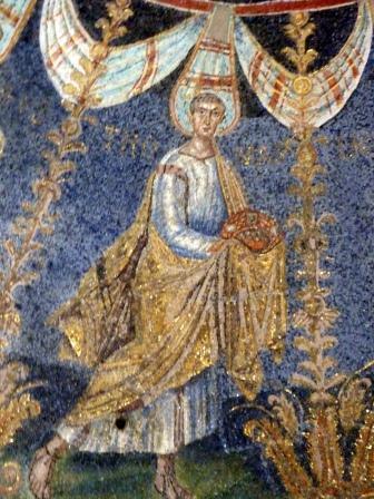 Император Констанций. Равенна.