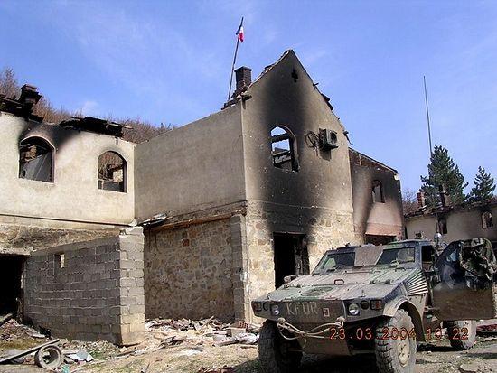 После погрома албанцев 17-19 марта 2004 г.