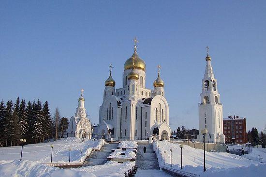 Ханты-Мансийск. Храм Воскресения Христова