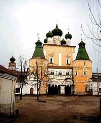 Борисо-Глебский на Устье мужской монастырь