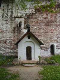 Келья преподобного Иринарха.