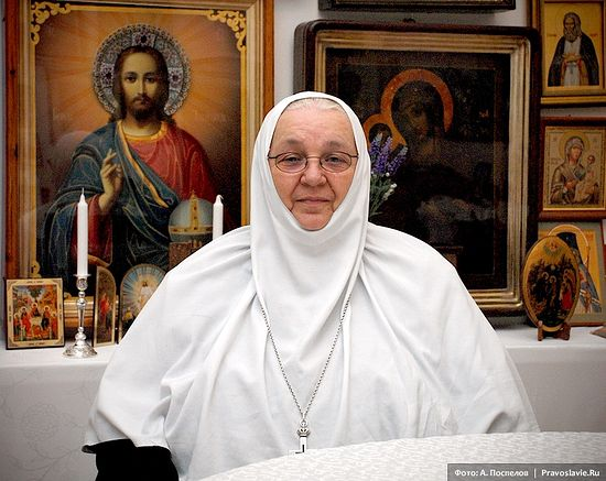 Abbess Moisseia (Bubnova). Photo: Anton Pospelov/Pravoslavie.ru