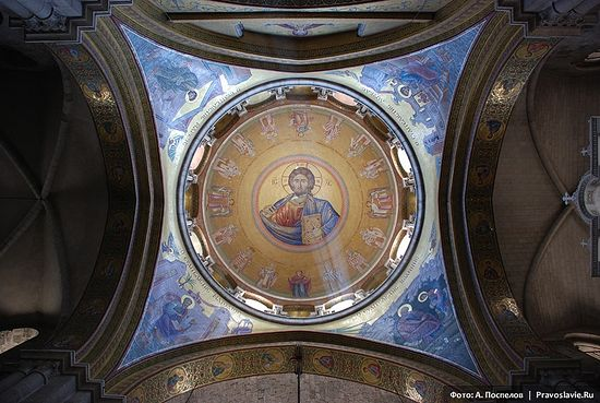 В храме Воскресения Христова, Иерусалим. Фото: А. Поспелов / Православие.Ru
