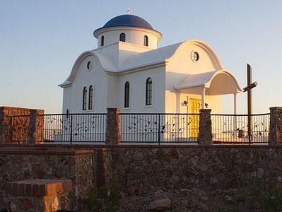 Монастырь во имя преподобного Антония Великого в пустыне Сонора (штат Аризона, США)