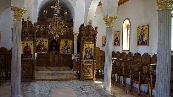 Убранство храма свт. Николая чудотворца.