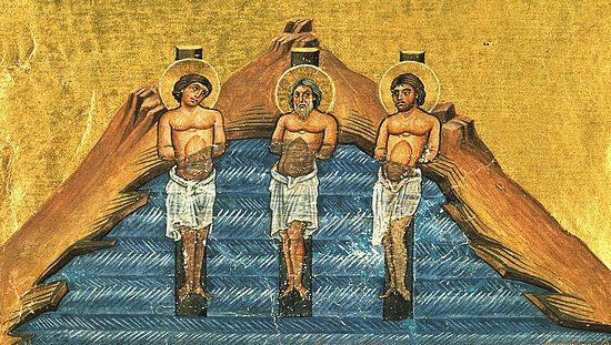 Миниатюра минология Василия II