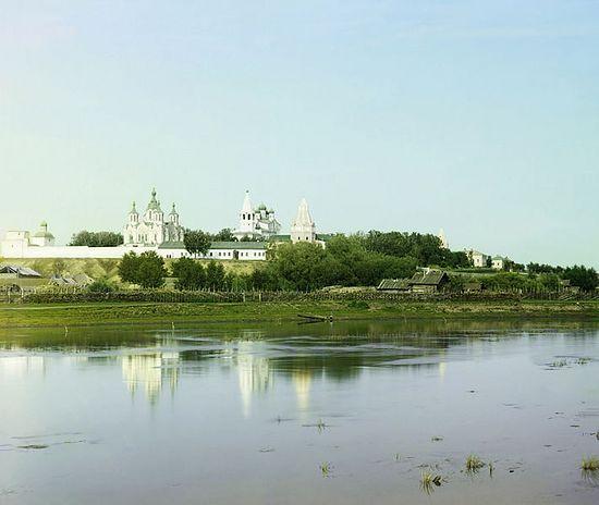 Свято-Успенский монастырь в 1912 году.