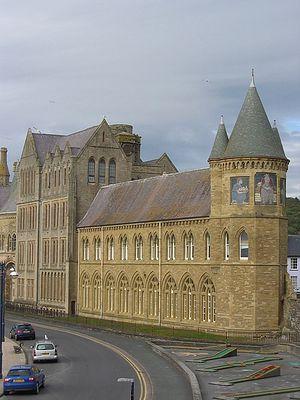Г. Абериствит, графство Кередиджен, Уэльс.