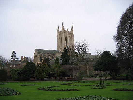Г. Бери Сент-Эдмундз, графство Суффолк, Англия.