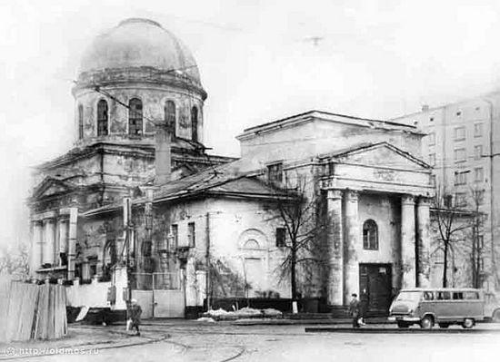 Церковь Флора и Лавра на Зацепе. 1980-е гг.