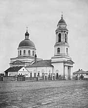 Церковь св. муч. Флора и Лавра на Зацепе. Фото конца XIXв. (hram.codis.ru)