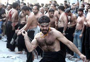 Мусульмане в центре греческой столицы