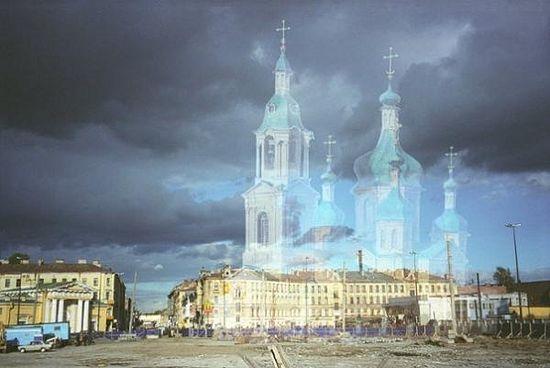 Photomontage by Alina Glazova