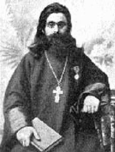Учредитель Нахабинского общества трезвости, священник церкви села Нахабина отец Сергий Пермский