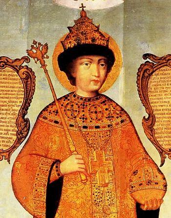 Царь Феодор Алексеевич