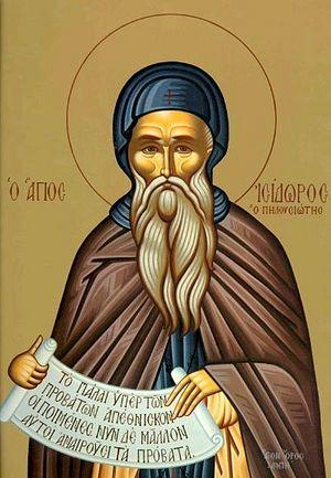 Преподобный Исидор Пелусиот