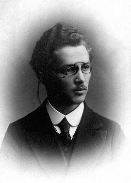 Студент Московской духовной семинарии Василий Надеждин