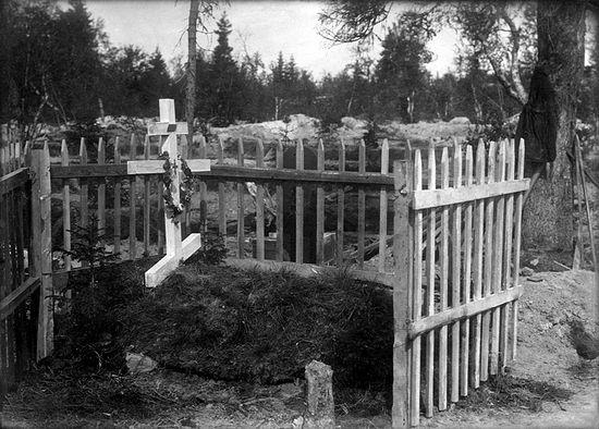 Могила священномученика Василия Надеждина в Кеми