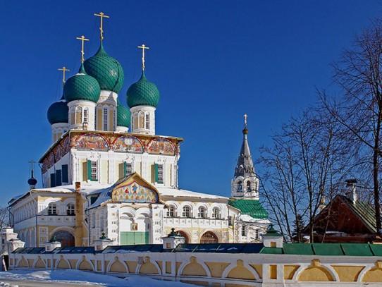 Борисоглебский собор. г. Романов-Борисоглебск