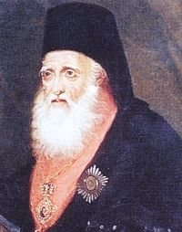 Священник Евгений Вулгарис