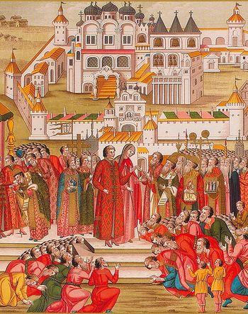 1613 - Победа над Смутой. Восстановление Российской Государственности. Призвание на царство Дома Романовых