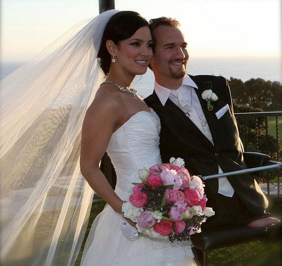 Ник с женой Канаэ Миахара