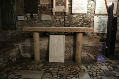 Гробница с мощами св. Кирилла