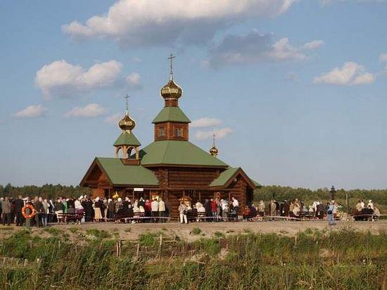 Храм скита. Фото Ежи Калины
