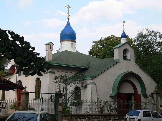 Русская церковь Святой Троицы в Белграде (современный вид)