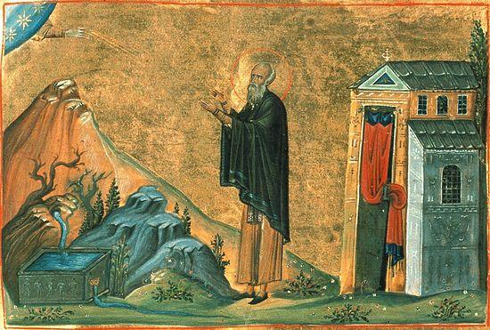 Препдобный Авраамий Затворник