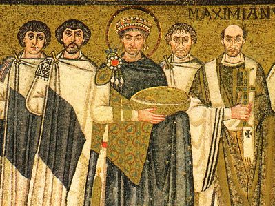 Святой император Юстиниан и его эпоха