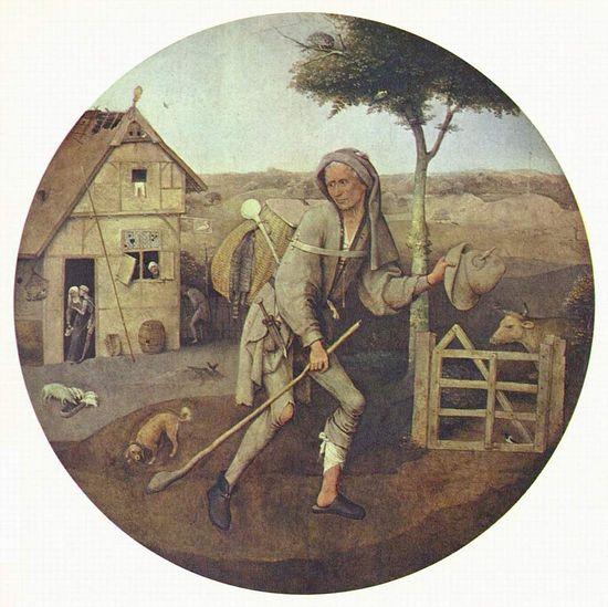 И. Босх. Блудный сын. 1510 г.