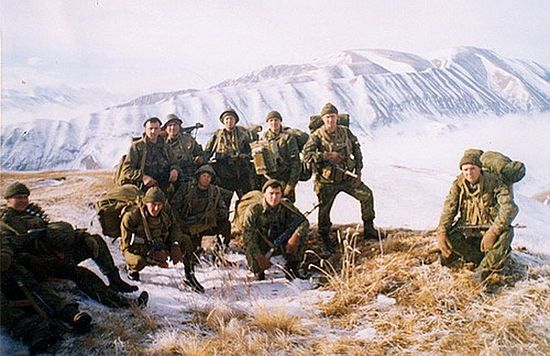 Бойцы 6-й роты