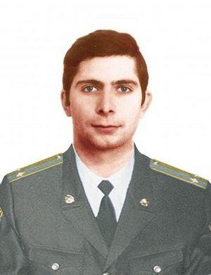 Подполковник Марк Евтюхин